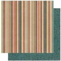 Scrapbooking Papier Olivia Stripe (Restbestand)