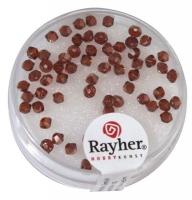 Rayher Swarovski Kristall-Schliffperlen 3mm red magma