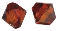 Swarovski Kristall-Schliffperlen 8mm 11St red magma