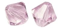 Rayher Swarovski Kristall-Schliffperlen 3mm orchidee