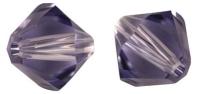 Rayher Swarovski Kristall-Schliffperlen 3mm lavendel