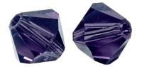 Rayher Swarovski Kristall-Schliffperlen 3mm purple velvet