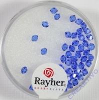 Rayher Swarovski Kristall-Schliffperlen 3mm royalblau