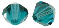 Rayher Swarovski Kristall-Schliffperlen 3mm ind.türkis