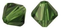 Rayher Swarovski Kristall-Schliffperlen 3mm dunkelgrün