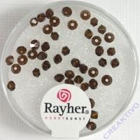 Rayher Swarovski Kristall-Schliffperlen 3mm mokka
