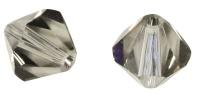 Rayher Swarovski Kristall-Schliffperlen 3mm silbergrau