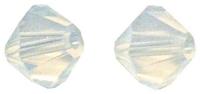 Rayher Swarovski Kristall-Schliffperlen 3mm weißopal