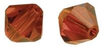 Swarovski Kristall-Schliffperlen 8mm 11St orangerot