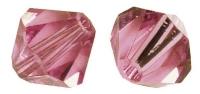 Swarovski Kristall-Schliffperlen 8mm 11St rosa chiffon