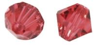 Swarovski Kristall-Schliffperlen 8mm 11St hot pink