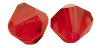 Swarovski Kristall-Schliffperlen 8mm 11St klassikrot