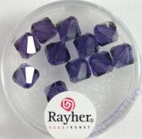 Swarovski Kristall-Schliffperlen 8mm 11St purple velvet