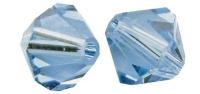 Swarovski Kristall-Schliffperlen 8mm 11St azurblau