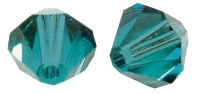 Swarovski Kristall-Schliffperlen 8mm 11St ind.türkis