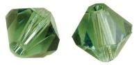 Swarovski Kristall-Schliffperlen 8mm 11St smaragd