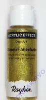 Rayher Glimmer-Allesfarbe 59ml brill.gold