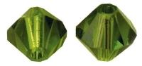 Swarovski Kristall-Schliffperlen 8mm 11St olive (Restbestand)