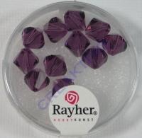 Swarovski Kristall-Schliffperlen 8mm 11St amethyst (Restbestand)