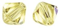 Swarovski Kristall-Schliffperlen 4mm 25St lichtgelb