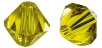 Swarovski Kristall-Schliffperlen 4mm 25St goldgelb