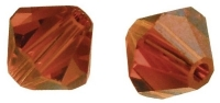 Swarovski Kristall-Schliffperlen 4mm 25St orangerot