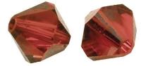 Swarovski Kristall-Schliffperlen 4mm 25St karminrot