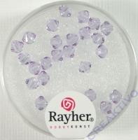 Swarovski Kristall-Schliffperlen 4mm 25St violett (Restbestand)