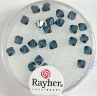 Swarovski Kristall-Schliffperlen 4mm 25St indigo