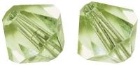 Swarovski Kristall-Schliffperlen 4mm 25St lindgrün