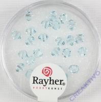 Swarovski Kristall-Schliffperlen 4mm 25St eisblau (Restbestand)
