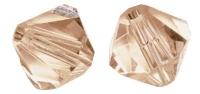 Swarovski Kristall-Schliffperlen 6mm 12St aprikot