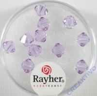 Swarovski Kristall-Schliffperlen 6mm 12St violett (Restbestand)