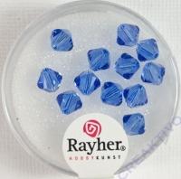 Swarovski Kristall-Schliffperlen 6mm 12St royalblau (Restbestand)