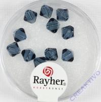 Swarovski Kristall-Schliffperlen 6mm 12St indigo (Restbestand)