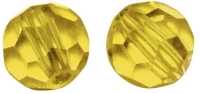 Swarovski Kristall-Perlen 4mm 20St goldgelb