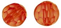 Swarovski Kristall-Perlen 4mm 20St capriorange
