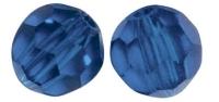 Swarovski Kristall-Perlen 4mm 20St nachtblau
