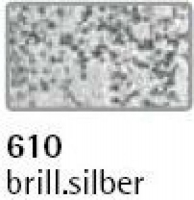 Rayher Metallicfarbe mit Struktur 59ml brill.silber (Auslaufartikel)