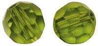 Swarovski Kristall-Perlen 4mm 20St olive