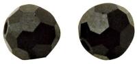 Swarovski Kristall-Perlen 4mm 20St ebenholz (Restbestand)