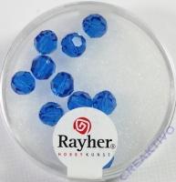 Swarovski Kristall-Perlen 6mm 12St nachtblau