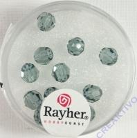 Swarovski Kristall-Perlen 6mm 12St rauch topas