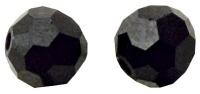 Swarovski Kristall-Perlen 8mm 12St ebenholz