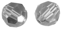 Swarovski Kristall-Perlen 8mm 12St silver shadow